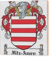Fitzawry Coat Of Arms Irish Wood Print