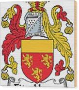 Fitzhenry Coat Of Arms Irish Wood Print