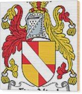 Fitznicol Coat Of Arms Irish Wood Print