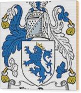 Fitzrery Coat Of Arms Irish Wood Print