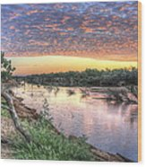 Fitzroy River Wood Print by Ian  Ramsay
