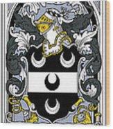 Fitzsimmons Coat Of Arms Irish Wood Print