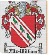Fitzwilliam Coat Of Arms Dublin Wood Print