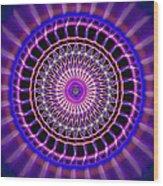 Five Star Gateway Kaleidoscope Wood Print