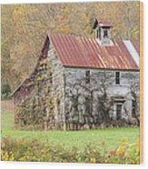 Fixer Upper Barn Wood Print