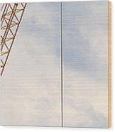 Flag 1 Wood Print