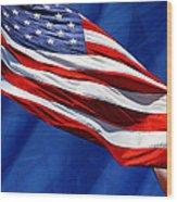 Flag Wood Print