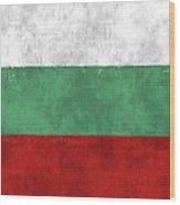 Flag Of Bulgaria Wood Print