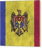 Flag Of Moldavia Wood Print