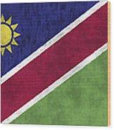 Flag Of Namibia Wood Print