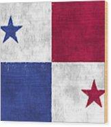 Flag Of Panama Wood Print