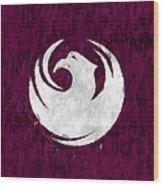 Flag Of Phoenix Wood Print