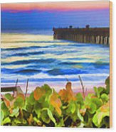 Flagler Beach Beautiful Wood Print