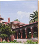 Flagler College Wood Print