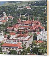 Flagler College St Augustine Florida Wood Print