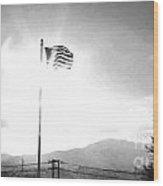 Flags Of Camp Zama 4 Wood Print