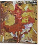 Flamenco 44 Wood Print