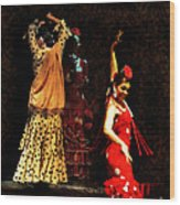 Flamenco Series #6 Wood Print