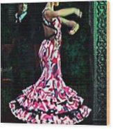 Flamenco Series No. 10 Wood Print