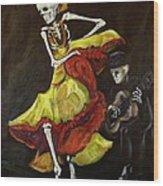 Flamenco Vi Wood Print