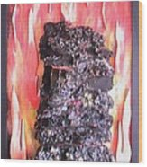 Flames to New Opportunities #1 Wood Print