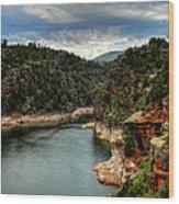 Flaming Gorge - Cart Creek 002 Wood Print