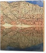 Flaming  Gorge Reflections Wood Print