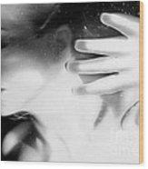 Flash Across My Soul - Self Portrait Wood Print