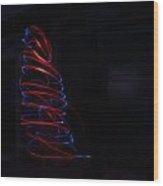 Flashlight Wood Print