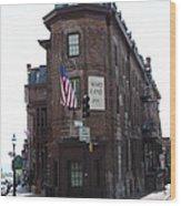 Flat Iron Annapolis - Maryland Inn Wood Print