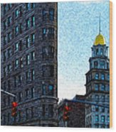 Flat Iron Nyc Wood Print
