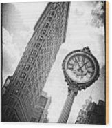 Flat Iron Wood Print by Peter Aitchison