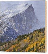 Flat Top Wood Print