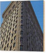 Flatiron Building New York Wood Print