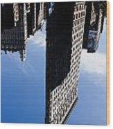 Flatiron Perspective Wood Print