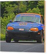 Flatout 90 Mazda Wood Print