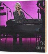Fleetwood Mac - Christine Mcvie Wood Print