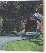Fleisher's Bridge Wood Print