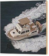 Fleming Yacht's Corvette Wood Print