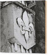 Fleur De Lys In Hoi An Wood Print