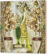 Fleurdelys Wood Print