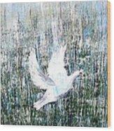 Flight Against Odds Wood Print