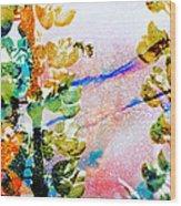 Flight Of The Bumblebee Wood Print