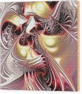 Flight Of The Phoenix Wood Print by Anastasiya Malakhova