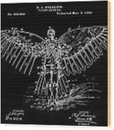 Flight Suit Wood Print