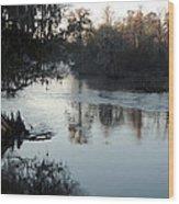 Flint River 20 Wood Print