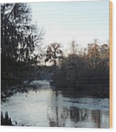 Flint River 23 Wood Print