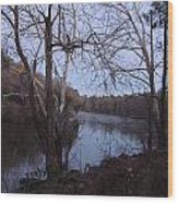 Flint River 4 Wood Print