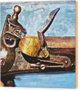 Flintlock Wood Print by Marty Koch