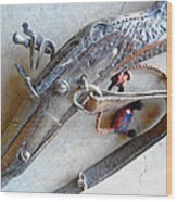Flintlock Musket Wood Print